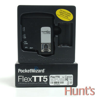 POCKETWIZARD FlexTT5 TRANSCEIVER FOR CANON TTL FLASHES AND DIGITAL SLR CAMERAS