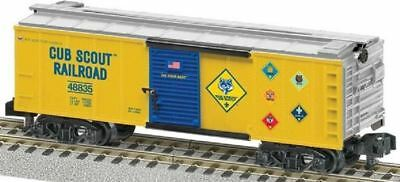 AMERICAN FLYER  6-48835 Cub Scout Railroad Boxcar MADE BY LIONEL Boy Scout MINT