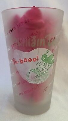 Vintage 1960'S Hillbilly- Yahoo Mountain Dew Frosted Glass Tumbler