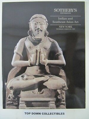 Sotheby's  Indian & Southeast Asian Art  Auction Catalog,  New York   + Results