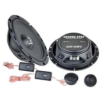 STP aislamiento Altavoces Upgrade 165mm coaxial para Smart Fortwo 07-14 Front