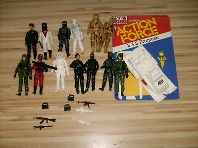 Action Force  Figuren Palitoy Sammlung 80er