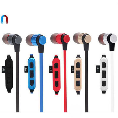 Wireless BT 4.2 Stereo Earphone Earbuds Sport Headphone Headset With MIC