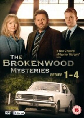 The Brokenwood Mysteries Season 1 2 3 4 Series One to Four New R4 DVD Box Set