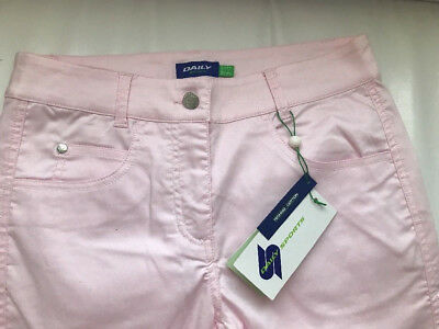 GIRLS GOLF Golf Hose 7/8 Capri rosa Gr. 34  NEU Golfhose Damen SWING