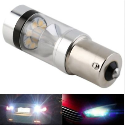 White CREE XBD 100W 1156 S25 P21W BA15S LED Backup Light Car Reverse Bulb Lamp