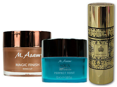 M. Asam Magic Finish 30ml+ AquaIntense Perfect Teint 50ml + Serum Deluxe 50ml