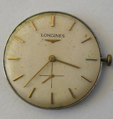 Longines 19.4 Movement Working Repair 31.5 mm Dial + Hands 1963 Longines 19.4