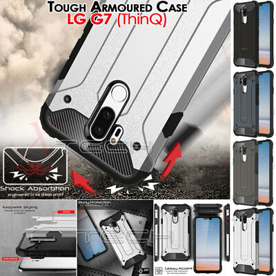LG G7 (ThinQ) TOUGH ARMOURED Slim Fit Shock Proof Hard Protective Case Cover