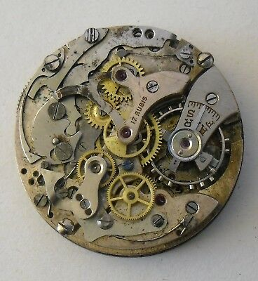 Baume & Mercier Chronograph Landeron Movement  Baume & Mercier Dial Repair Parts
