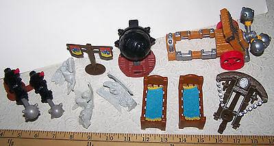 Medieval Accessories, Replacement Pieces for Imaginext™ Fisher-Price c.Mattel