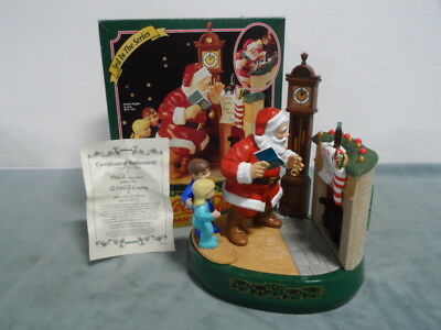 Coca Cola Santa Claus Mechanical Bank 3rd in Series