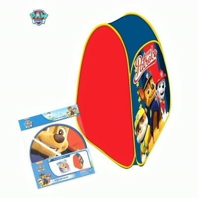 New Official Paw Patrol Pop Up Folding Tent