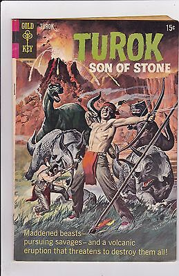 Turok Son Of Stone #66 VG 4.0 Gold Key 1969 See My Store
