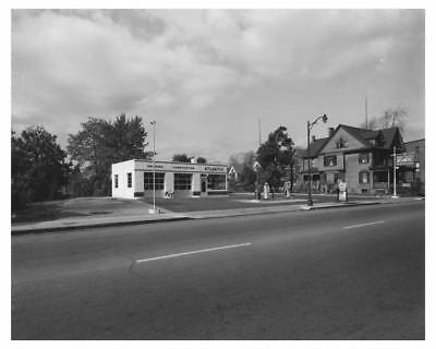 1951 Atlantic Gas Station Rochester NY South Ave Photo ch6668