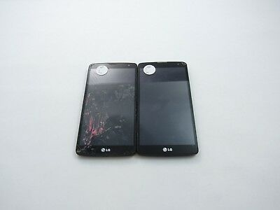 Cracked Lot of 2 LG G Vista D631 AT&T Check IMEI 4CR-822
