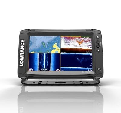 Lowrance ELITE9 Ti Touch With Totalscan And Insight Pro Lowrance 000-13274-005