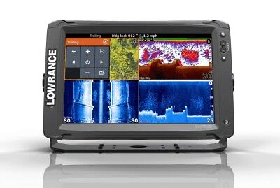 Lowrance ELITE12 Ti Touch With Totalscan And Insight Pro Lowrance 000-13718-005