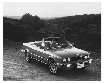 1987 BMW 325i Convertible Automobile Factory Photo ch8538