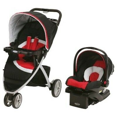 Graco Pace Click Connect Travel System - Spice (16452593)