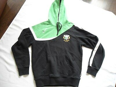Hull Dockers Rugby League Players Issue Hooded Jacket Size Med