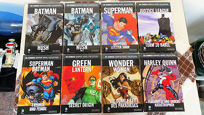 8 x DC COMIC GRAPHIC NOVEL COLLECTION