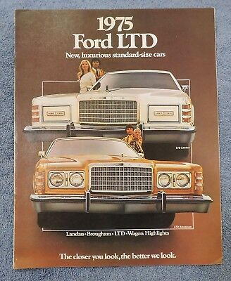 1975 Ford Ltd  Sales Brochure