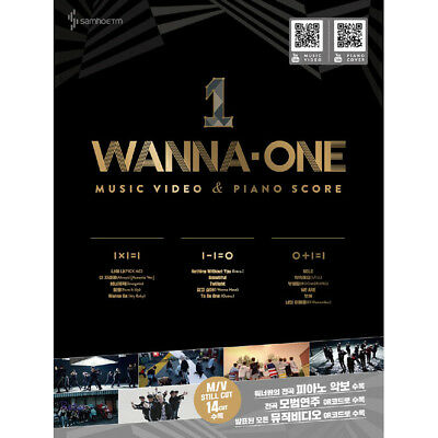 K-Pop Sheet Music WANNA ONE Music Video & Piano Score (MUSIC601)