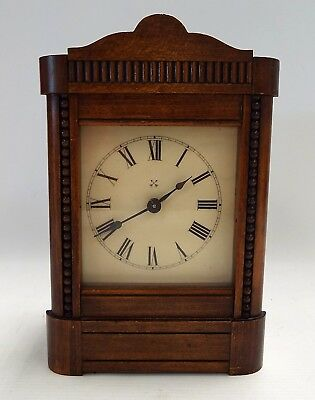 Vintage CROSS ARROWS Wooden Mantle Clock SPARES/REPAIRS - S76