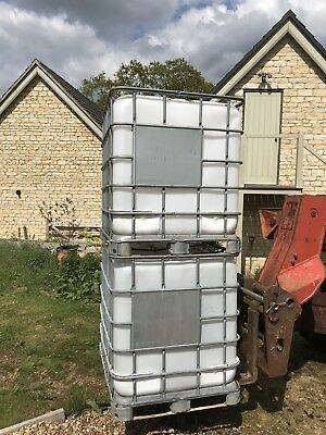 Water Container 1000lt (auction is for one)