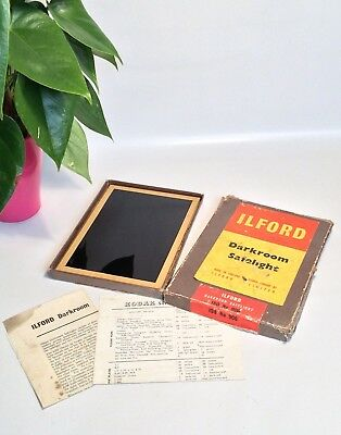 Vintage Ilford Photographic Darkroom Safelight ISO No 906 Developing Equipment