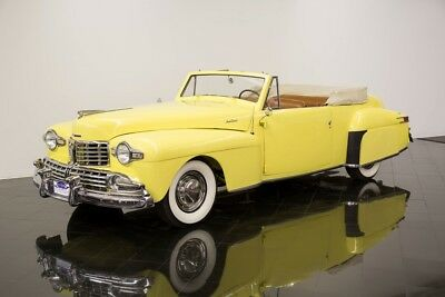 1948 Lincoln Continental Cabriolet 1948 Lincoln Continental Cabriolet