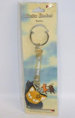"Fruits Basket Kyo Sohma 1"" Cat Face Rubber Key Chain NEW Anime Manga Keychain"