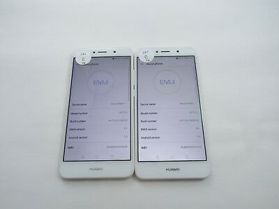 Lot of 2 Huawei Ascend XT2 H1711 Cricket Check IMEI Good Condition 4-732