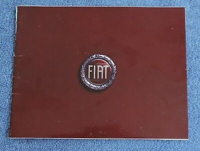 1976 Fiat Sales Brochure / Includes 124 Sport Spider And 131 Station Wagon