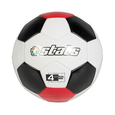 Stats - Pro Soccer Ball Size 4 - White, Red & Black