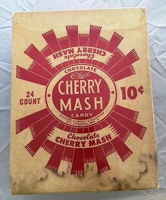 Cherry Mash Candy by Chase Candy Company  10 cents  pre-zip codes