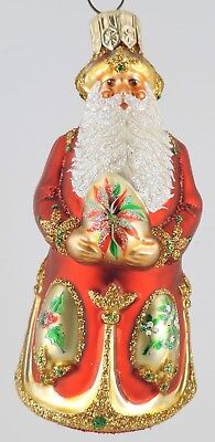Patricia Breen MINI IMPERIAL SANTA - Poinsettia Red - Neiman Marcus Only