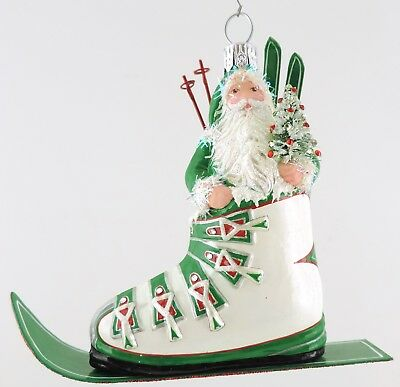 Patricia Breen VERBIER CLAUS - Green/White/Red