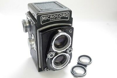 MPP Microcord 6x6 TLR camera with Ross 7.7mm f3.5 Xpres lens in Prontor SVS shut