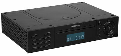 MEDION LIFE E66265 MD 43147 Stereo CD Player Unterbauradio UKW AUX RDS schwarz