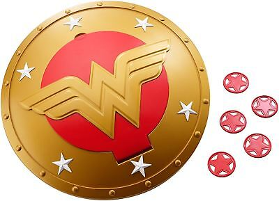 DC Super Hero Girls Wonder Woman Shield With 5 Flying Discs