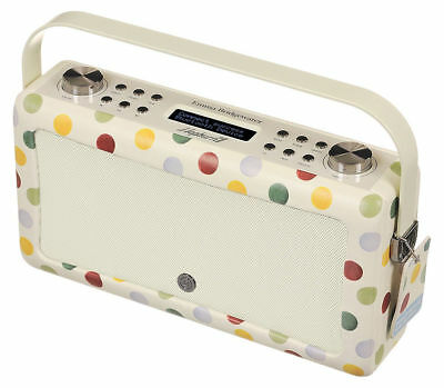 VQ Hepburn Emma Bridgewater MKII DAB+ Digital Radio Bluetooth Polka Dot
