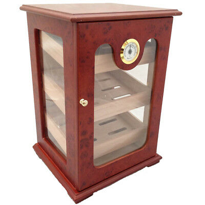 150 ct UNIQUE CIGAR HUMIDOR - GREAT DISPLAY SHOW BOX