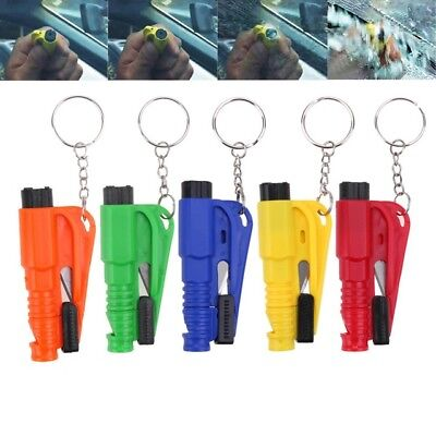 Self-Help Portable Car Safety Hammer Glass Breaker Cutter Emergency Rescue Tool