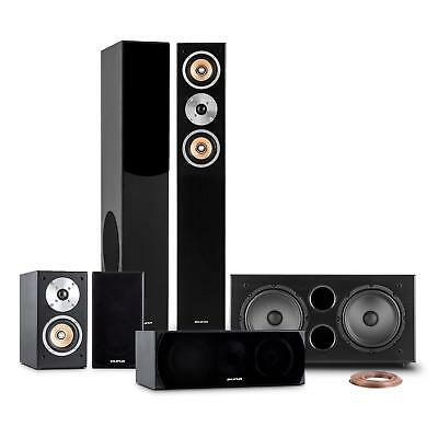 Set Completo Home Theatre Theater Sound System 600W Rms Altoparlanti Subwoofer