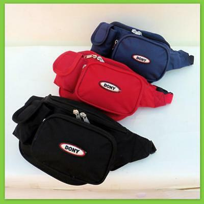 Heavy Duty Waist Bum Bag Wallet Pouch Travel Money Pack Adjustable Belt 3 Color