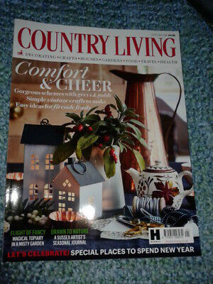 Country Living Magazine, Jan 2018 Issue
