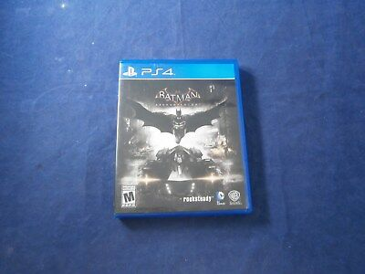 PlayStation 4 (PS4) Batman Arkham Knight 100% Scratch Free