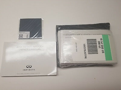 2018 infiniti q50 owners manual book kit with black case intouch rh picclick com infiniti q50 owners manual 2016 infiniti q50 owner manual oil change info